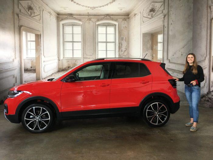 Kundengalerie Volkswagen T-Cross Style Flash Rot