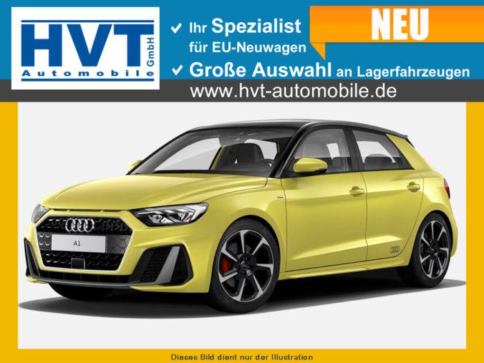 Audi A1 Sportback S Line Phyton Gelb Dach Kontrast Schwarz