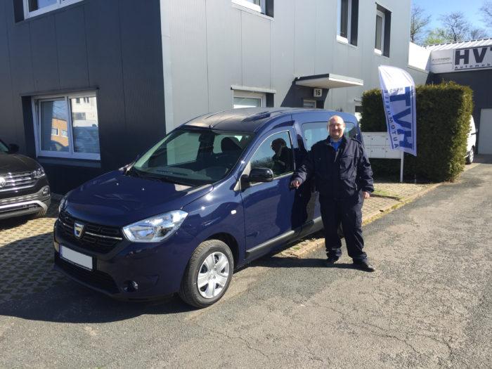 Kundengalerie Dacia Dokker Comfort Marine Blau