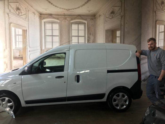 Dacia Dokker Express Comfort Arktis Weiß