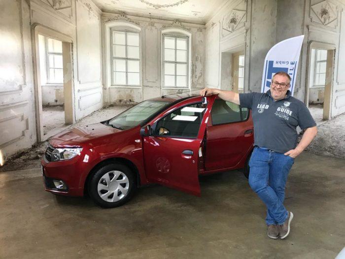 Kundengalerie Dacia Sandero Comfort Kalahari Rot Metallic