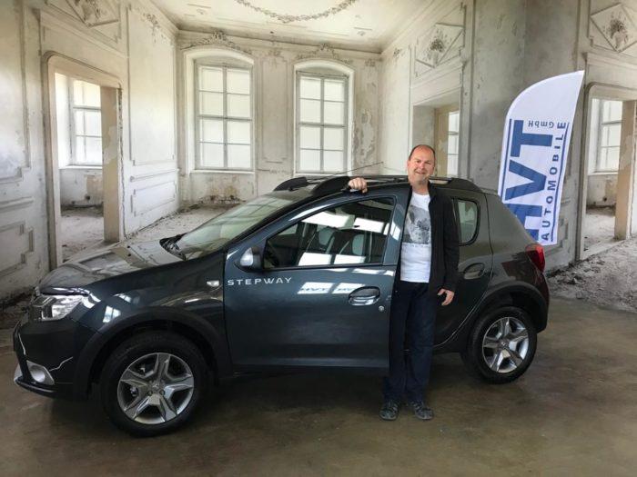 Kundengalerie Dacia Sandero Stepway Prestige Kometen Grau Metallic