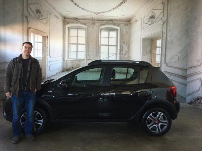 Kundengalerie Dacia Sandero Stepway Prestige Perlmutt Schwarz Metallic