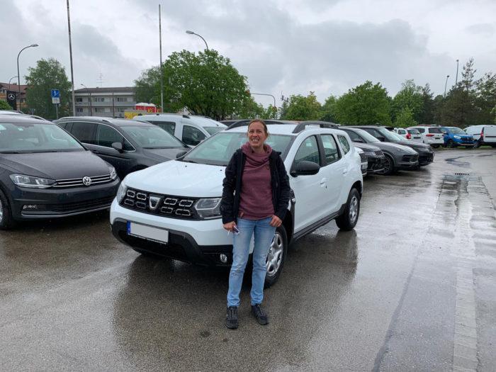 Kundengalerie Dacia Duster Comfort Arktis Weiss