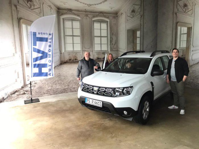 Dacia Duster Comfort Arktis Weiss