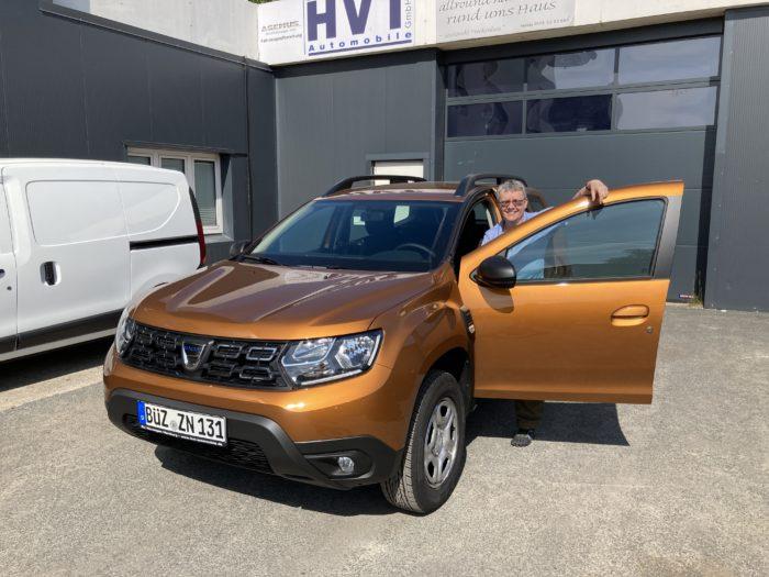 Kundengalerie Dacia Duster Comfort Atacama Orange