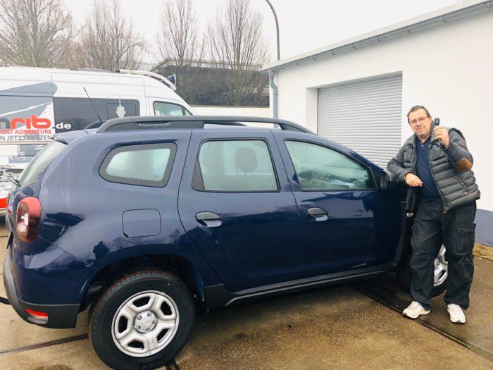 Kundengalerie Dacia Duster Essential Marine Blau