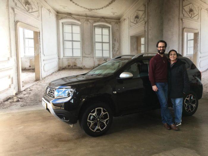 Dacia Duster Prestige Perlmutt Schwarz