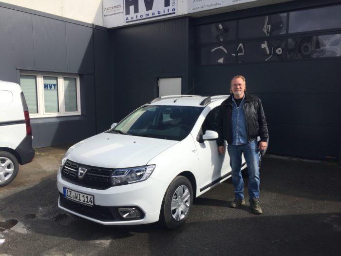 Dacia Logan MCV Comfort Arktis Weiss