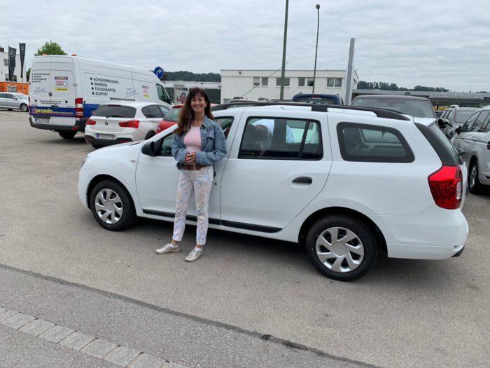 Kundengalerie Dacia Logan MCV Essential Arktis Weiss