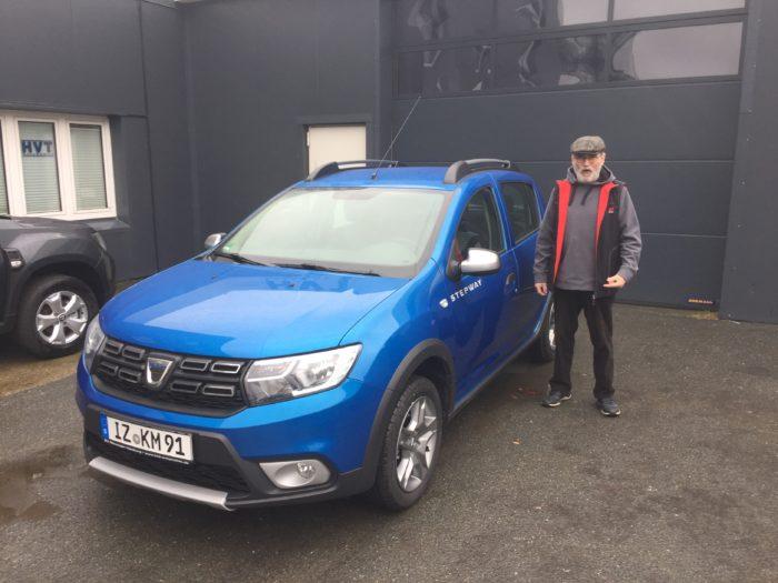 Dacia Logan MCV Stepway Adria Blau