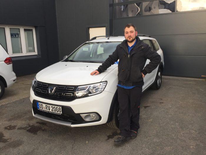 Kundengalerie Dacia Logan MCV Stepway Arktis Weiss