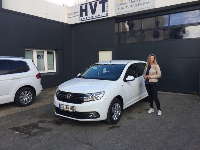 Dacia Sandero Comfort Arktis Weiss
