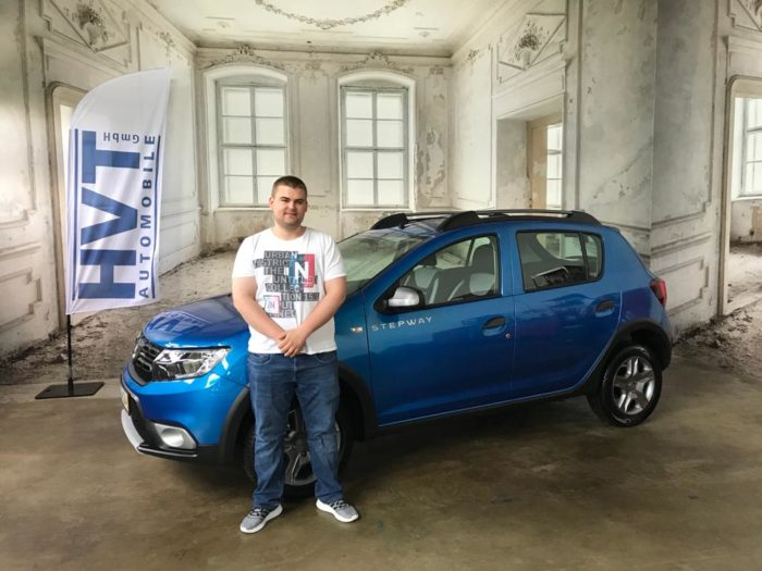 Kundengalerie Dacia Sandero Stepway Prestige Adria Blau Metallic