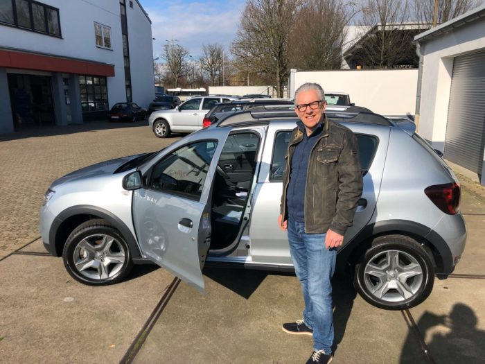 Kundengalerie Dacia Sandero Stepway Prestige Highland Grau