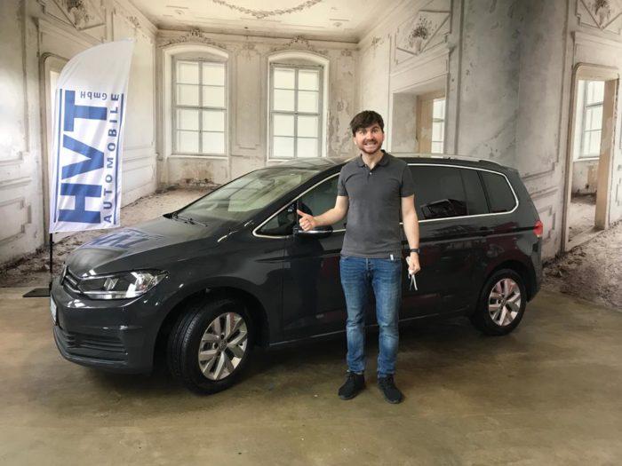 Kundengalerie Volkswagen Touran Comfortline Uranograu