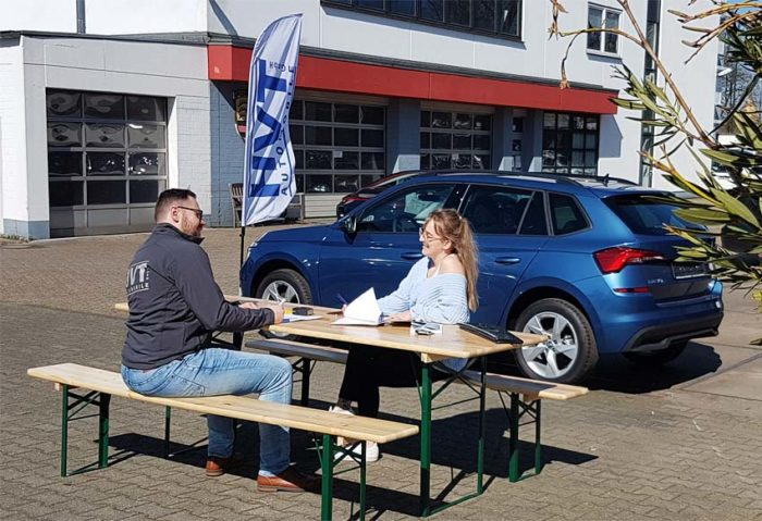 Abholung vor Ort bei HVT Automobile