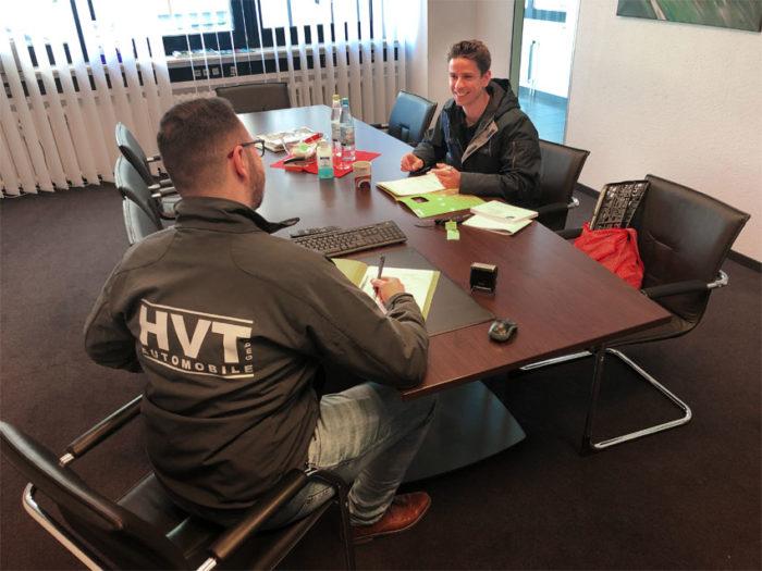 Persönliche Beratung bei HVT Automobile
