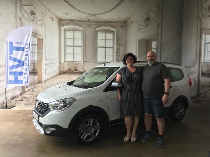 Dacia Lodgy Stepway Arktis Weiss