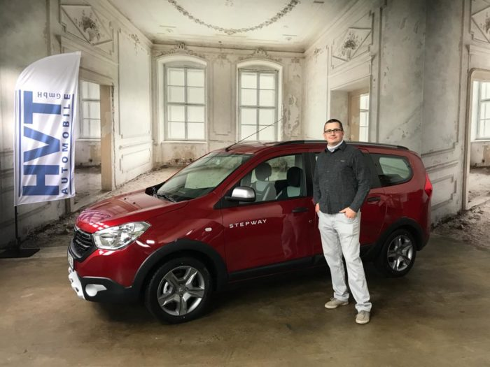 Kundengalerie Dacia Lodgy Stepway Kalahari Rot
