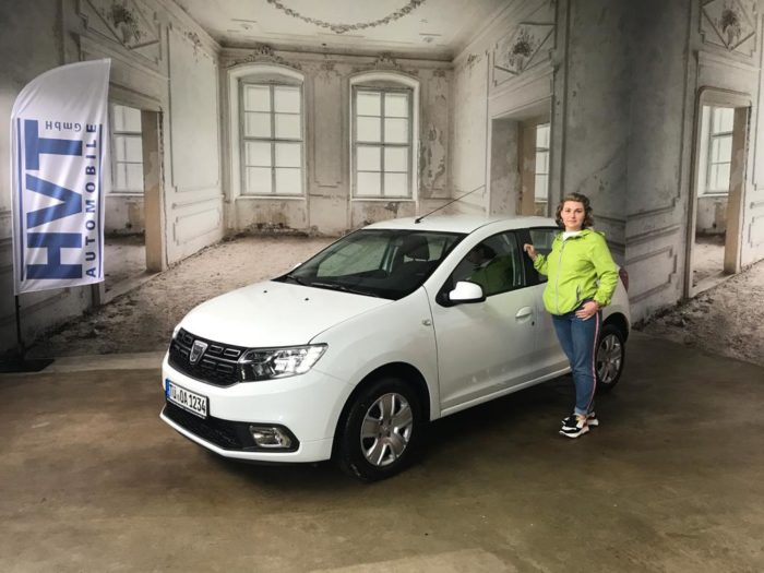 Kundengaleie Dacia Sandero Comort Arktis Weiss