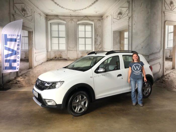 Kundengalerie Dacia Sandero Stepway Prestige Arktis Weiss