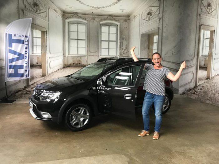 Kundengalerie Dacia Sandero Stepway Prestige Perlmutt Schwarz