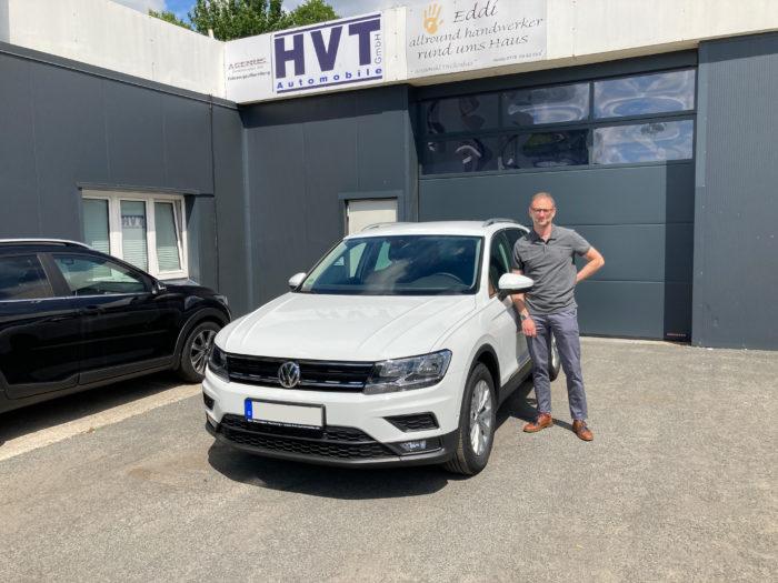 Volkswagen Tiguan Comfortline Pure White