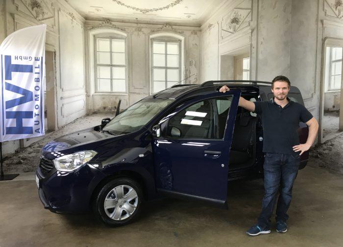 Dacia Dokker TCe 130 Comfort Marine blau