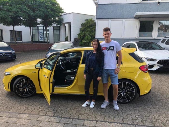 Kundengalerie Mercedes Benz AMG Sonnengelb