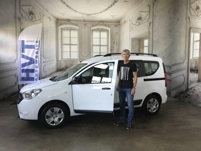 Dacia Dokker TCe130 Comfort Arktis weiß