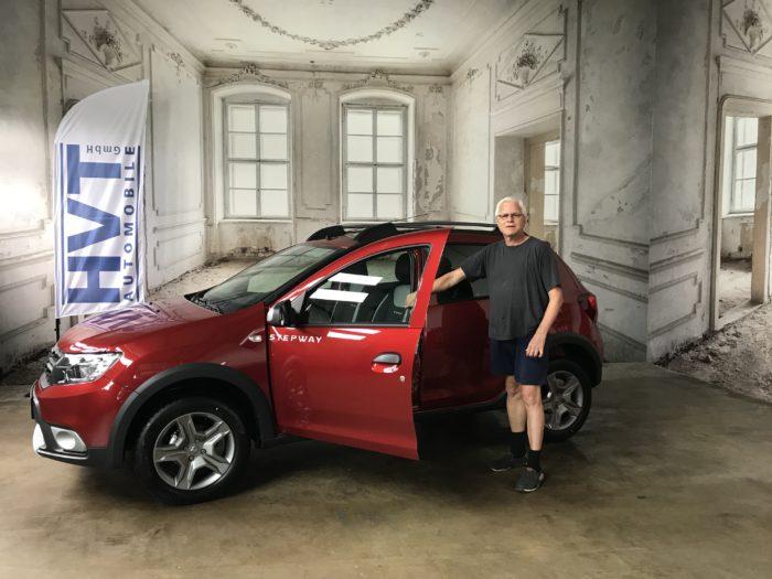 Dacia Sandero Stepway Easy-R Prestige Kalahari rot