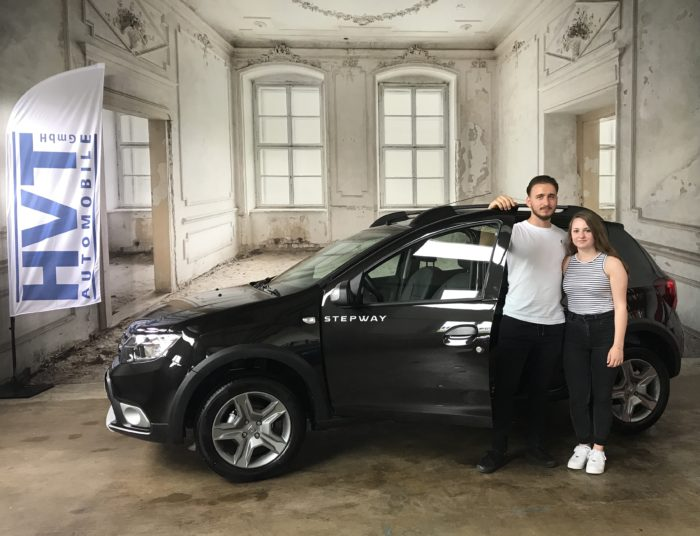 Dacia Sandero Stepway TCe 100 LPG Prestige Perlmutt schwarz