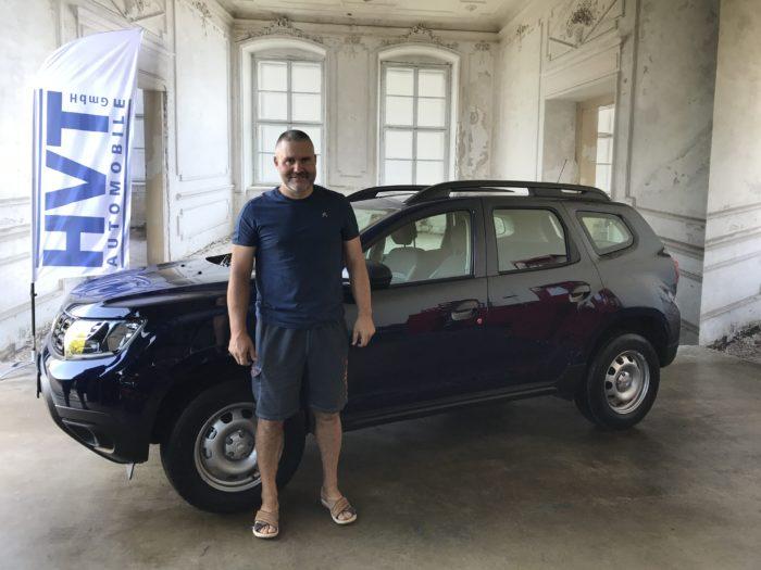Dacia Duster TCe 100 LPG Ice Marine blau