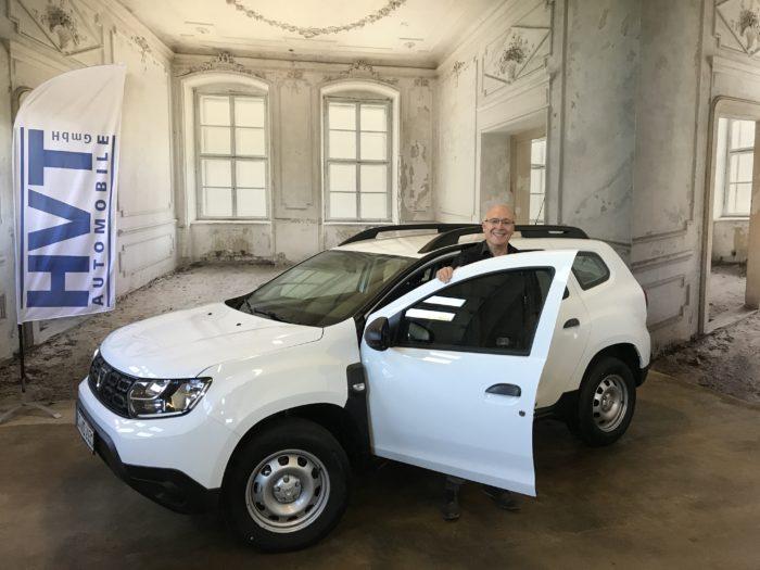 Dacia Duster TCe 100 LPG ice Arktis weiß