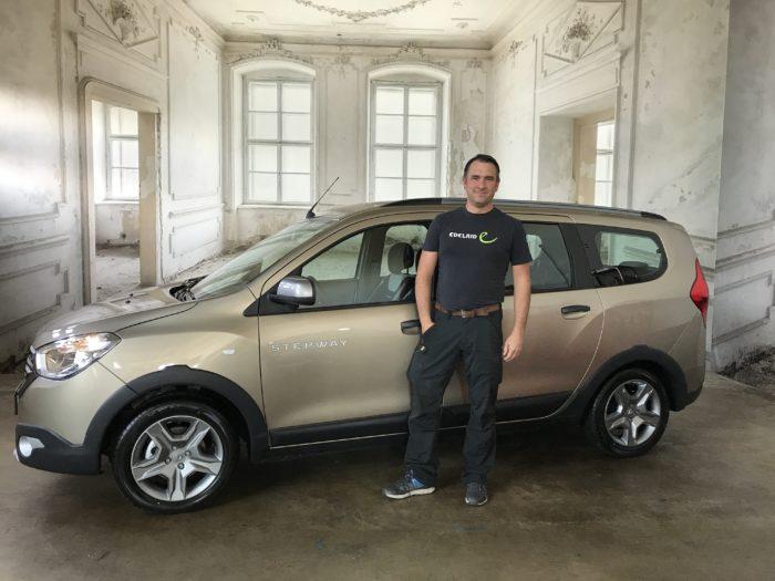 Dacia Lodgy Stepway Dünenbeige Metallic
