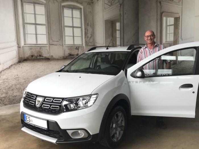 Dacia Logan Stepway Arktis weiß