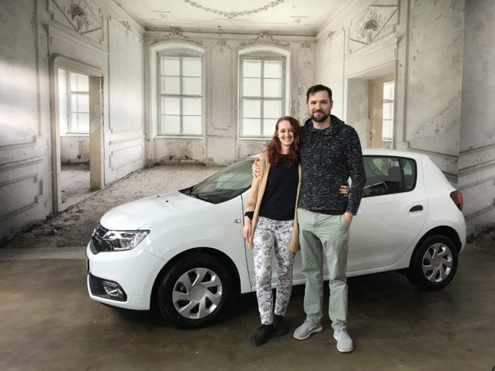 Dacia Sandero Essentiel Arktis weiß