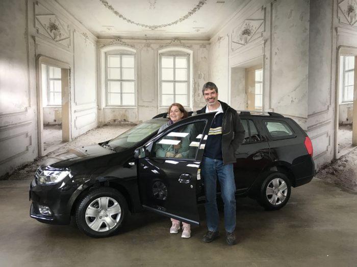 Dacia Logan MCV LPG Comfort Perlmutt schwarz metallic