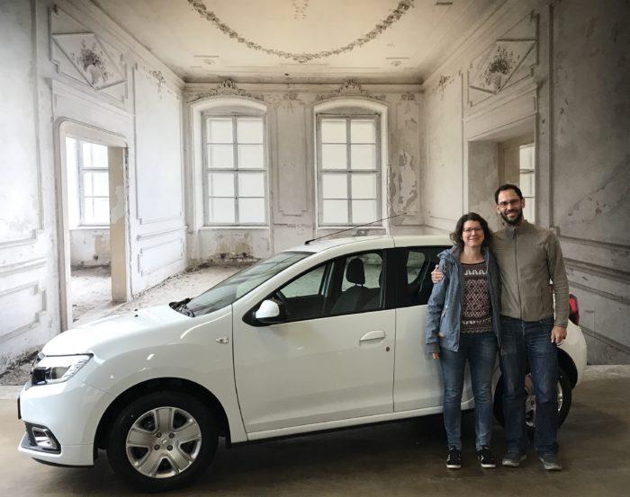 Dacia Sandero TCe 100 LPG Comfort Arktis weiß