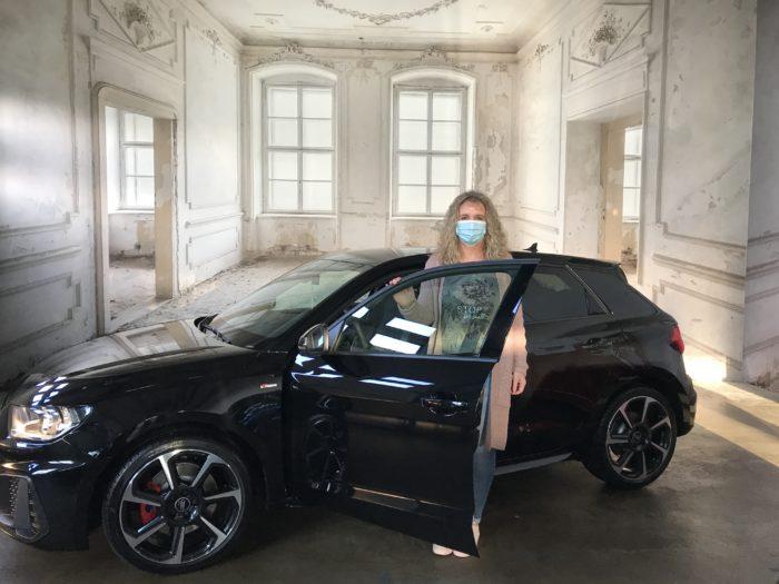 Audi A1 S tronic Sportback S Line Mythosschwarz