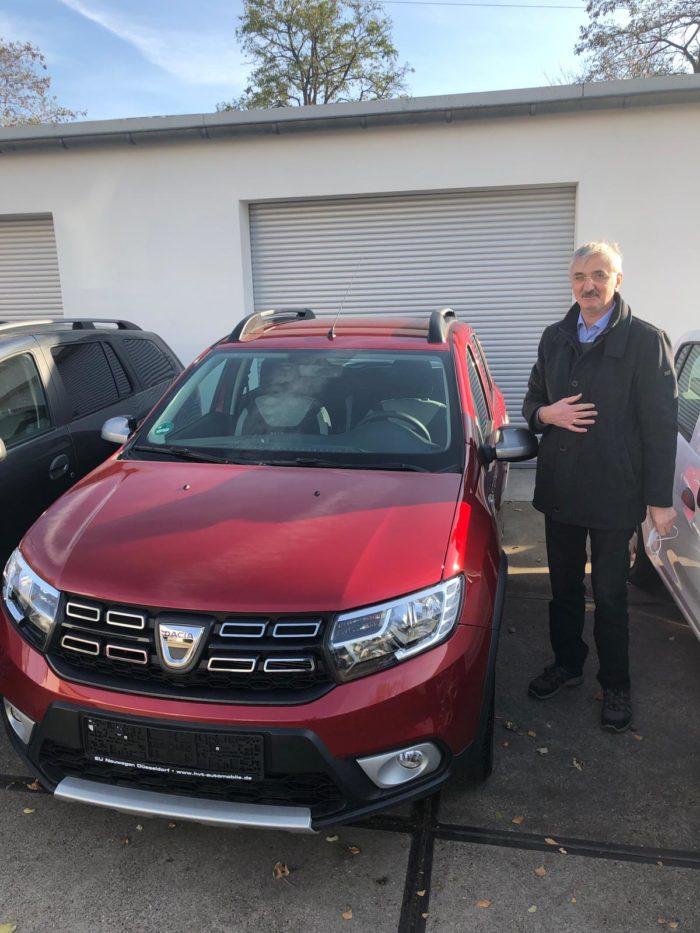 Dacia Stepway TCE 100 LPG Prestige Kalahari Rot Metallic
