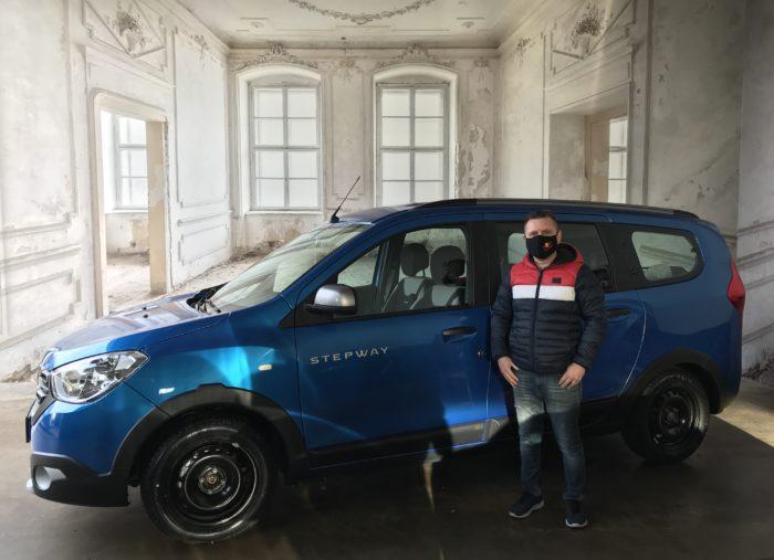 Dacia Lodgy Blue dCi 115 Stepway Adria blau