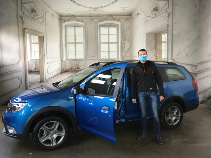 Dacia Logan MCV LPG SStepway Adria blau