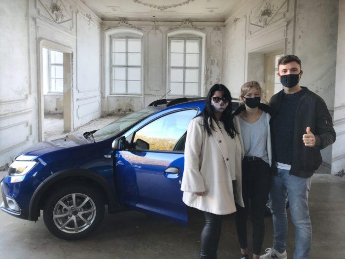 Dacia Sandero Stepway LPG Prestige Iron blau