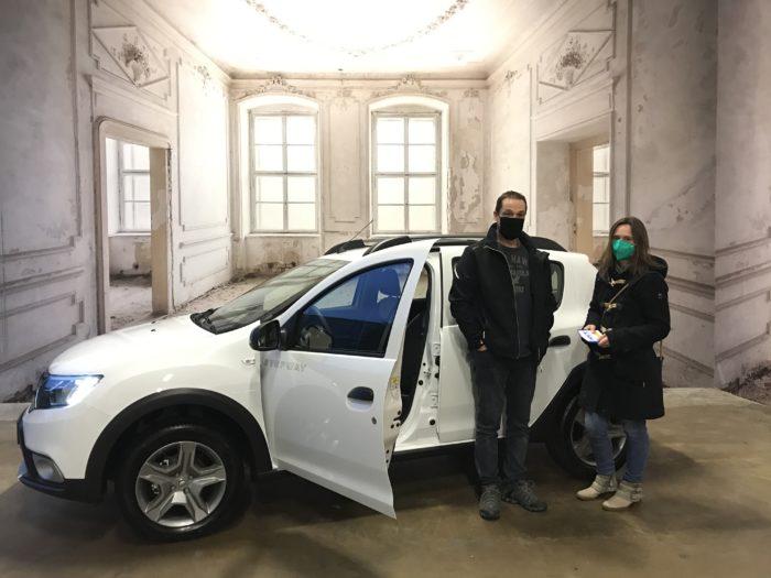 Dacia Sandero Stepway TCe 100 LPG Prestige Arktis weiß
