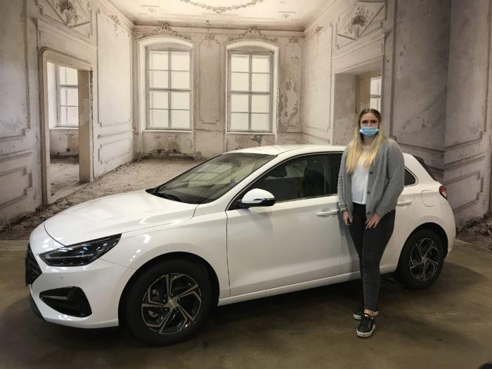 Hyundai i30 5-Türer 1.0 T-GDI Trend Polar White