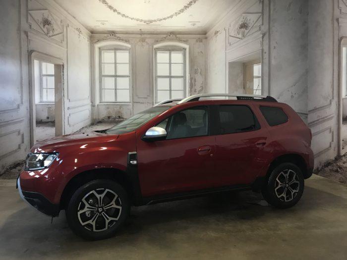 Dacia Duster TCe 100 LPG Prestige Kalahari rot Metallic