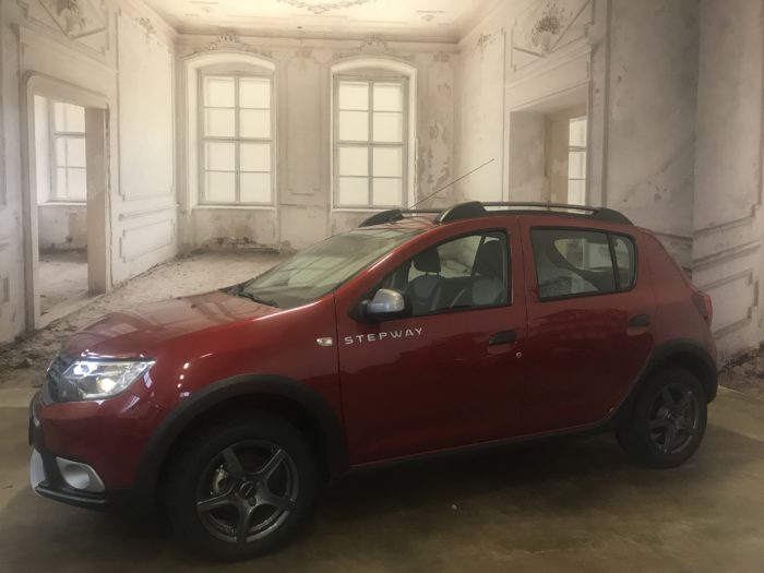 Dacia Sandero Stepway TCe 100 LPG Prestige Kalahari rot Metallic