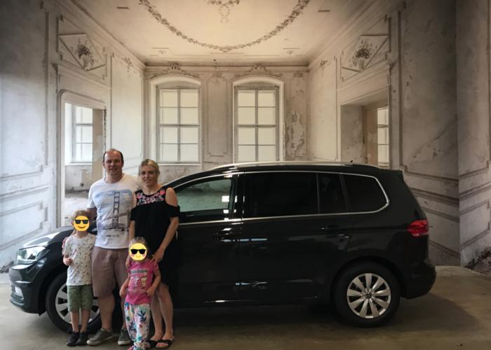 VW Touran 1.5 TSI Comfortline Uranograu
